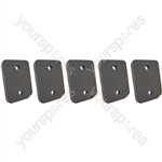 Miele T1 Series Replacement Tumble Dryer Foam Sponge Filter Pack of 5