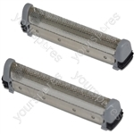 Remington Compatible Replacement Shaver Cutter SP-67 Type Microscreen Twin Foil Pack of 2