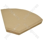 Universal Coffee Machine Filter Papers 1x4 Size Pack of 40