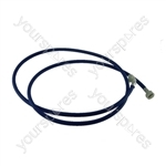 Crosslee Universal Washing Machine Inlet Cold Fill Blue Hose 2.5m Long