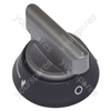Cannon Silver and Black Cooker Control Knob