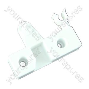Indesit White Left Hand Freezer Flap Hinge