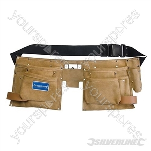 Double Pouch Tool Belt 8 Pocket - 300 x 200mm