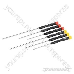 Extra-Long Precision Screwdriver Set 6pce - 6pce