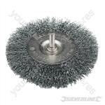 Rotary Steel Wire Wheel Brush - 100mm