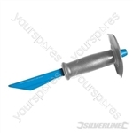 Fluted Plugging Chisel with Guard - 250mm