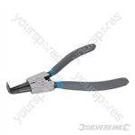 Bent External Circlip Pliers - 180mm